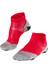 Falke RU 5 Lightweight Hardloopsokken grijs/rood